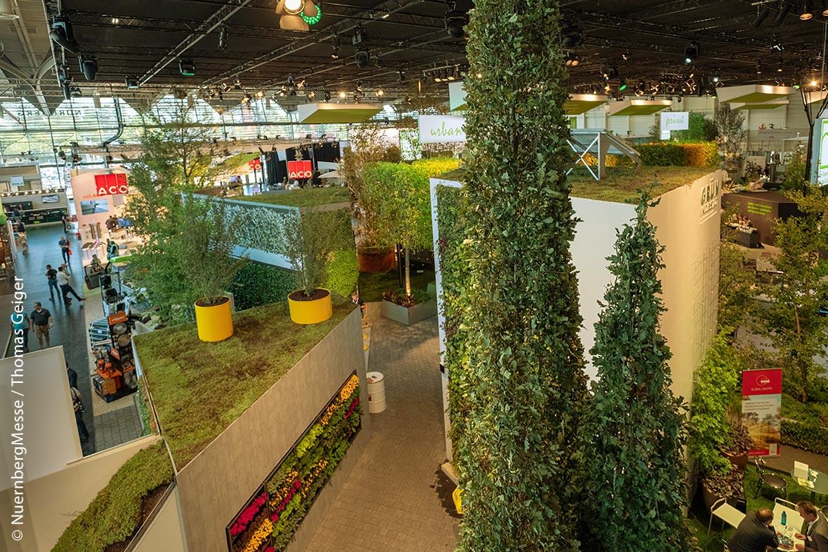 Die GaLaBau ist bekannt dafür, dass sie zukunftsweisende Konzepte im Garten- und Landschaftsbau vorstellt.