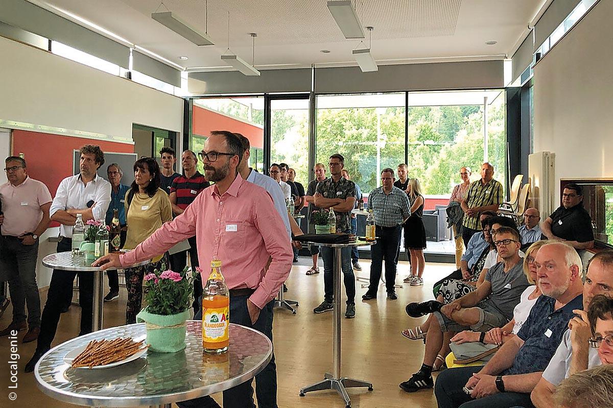 In einem Barcamp im Juli 2019 erarbeiteten Anbieter konkrete Anforderungen für den zukünftigen Online-Marktplatz für Oberndorf am Neckar.