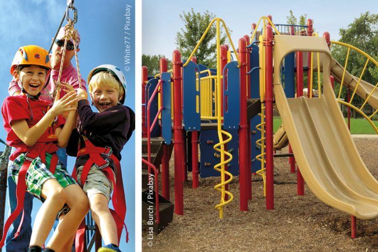 Die Benutzung von Spielplätzen bedeutet für Kinder nicht nur Spaß, sondern auch ein gewisses Risiko. Spielplatzbetreiber sind daher aufgefordert, die Risiken durch regelmäßige Kontrollen zu minimieren.