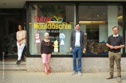 """Zu Beginn der Corona-Ausbreitung in Deutschland gab es in Sulz großen Bedarf an Alltagsmasken. Mit der ehrenamtlichen Aktion """"Sulzer Mauldäschle"""" zeigten Bürger der Stadt am Neckar ihre Bereitschaft zum Engagement."""