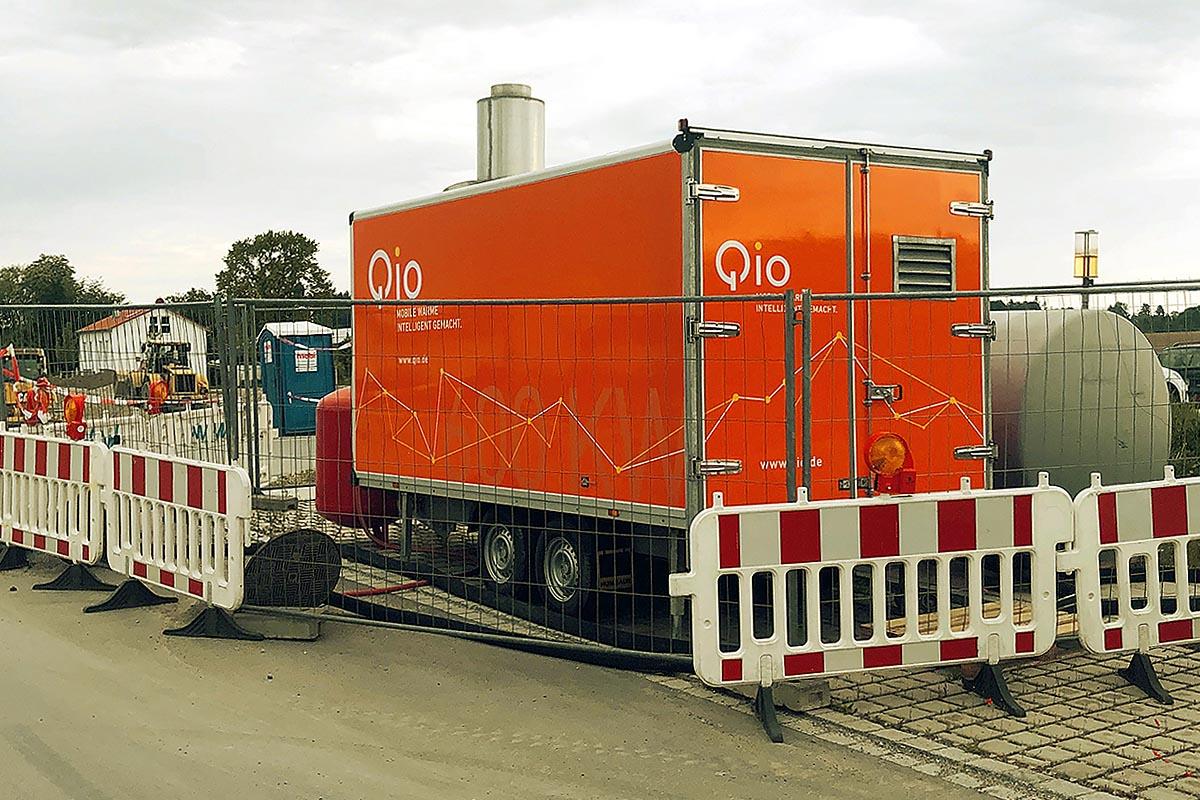 Mobile Heizzentrale QHZ 600 von Qio