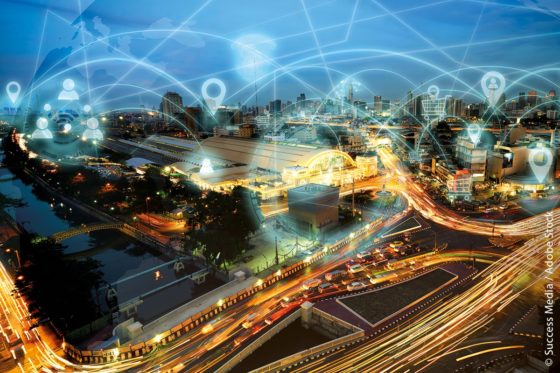 Mit einer virtuellen Stadt simulieren Stuttgarter Wissenschaftler den Einfluss von bestimmten Maßnahmen auf den Kampf gegen die Pandemie.
