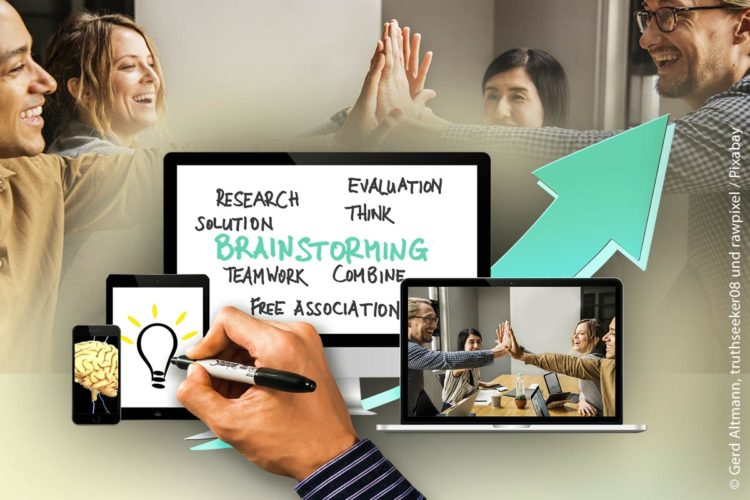 Vor allemgute Teamarbeit, sinnvolle Organisation und vielfältige Aufstiegschancen kennzeichnen einen attraktiven Arbeitgeber.