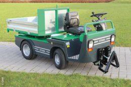 Der Multi EL, hier mit Frontlift, wird über einen 4,0 KW AC-Elektromotor angetrieben.