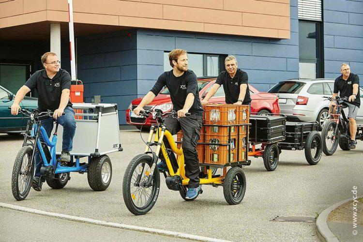 Die Nutzung von E-Bikes und E-Lastenrädern im Arbeitsumfeld bietet einige Vorteile.