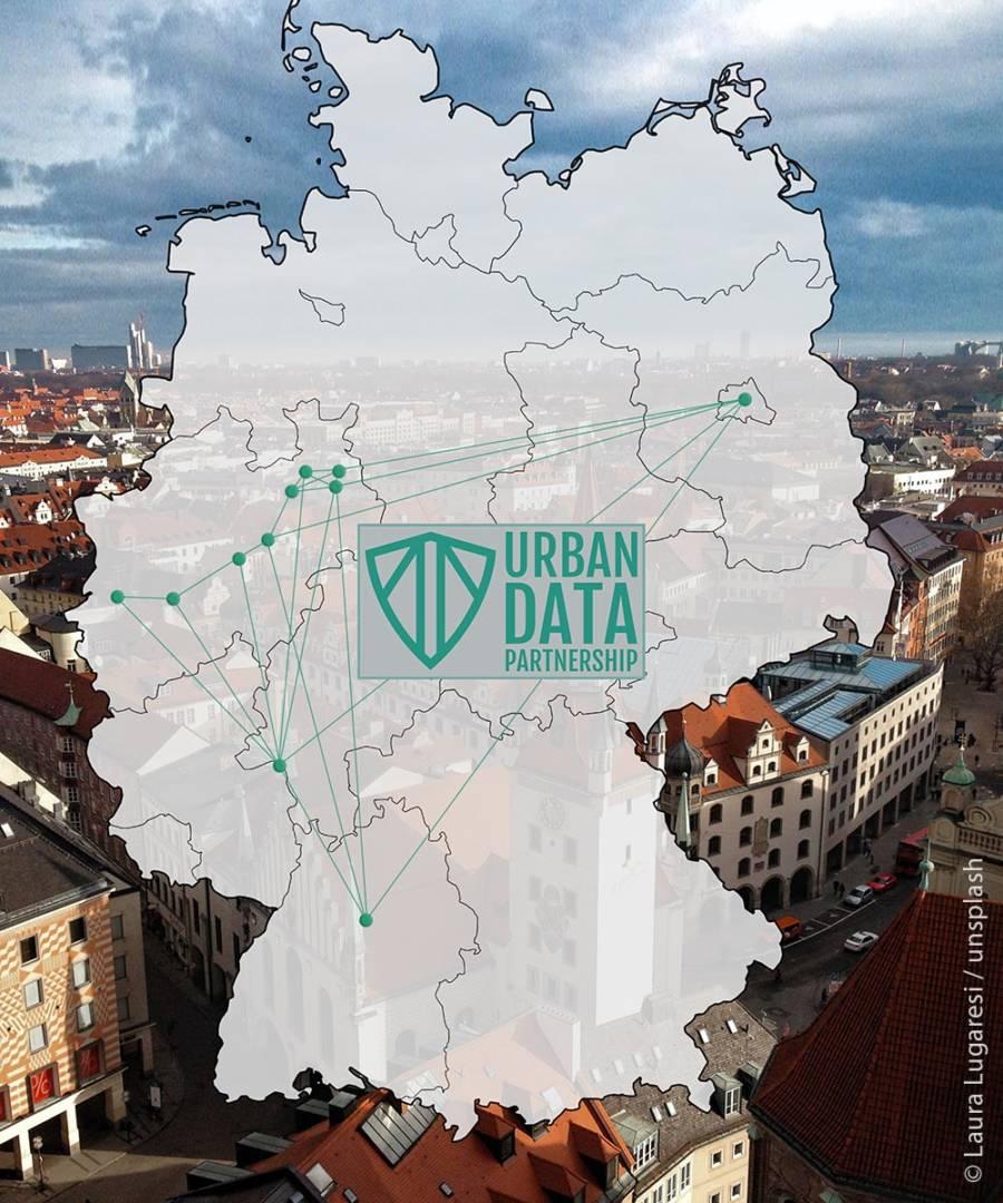 Datenpartnerschaft über Landesgrenzen hinweg: Bereits elf Partnerstädte und Stadtwerke sind Teil der Urban Data Partnership.