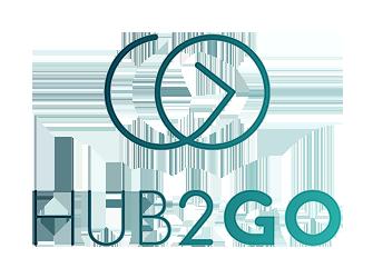 Hub2Go Logo