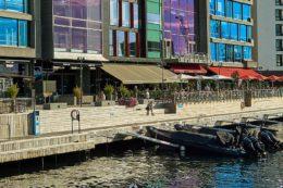Flaniermeile am neu gestalteten Osloer Hafen