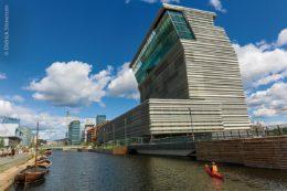 Lambda, das neue Munch-Museum, nahe am Hafen von Oslo
