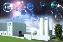 geplante Wasserstoff-Fabrik in Ulm