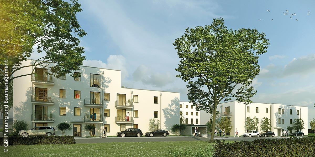 Auf dem Gelände des ehemaligen Klinikums in Villingen-Schwenningen entstehen 63 Wohnungen.