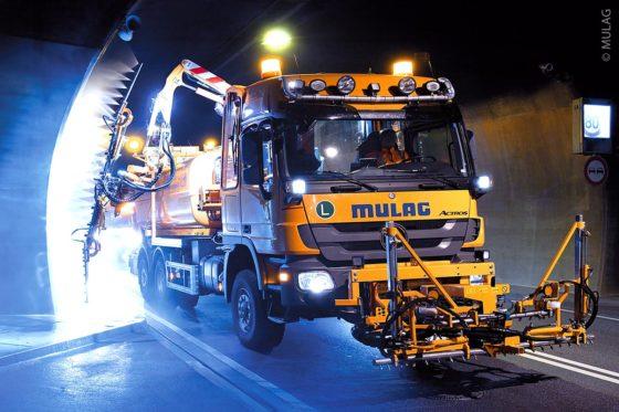 MULAG TWG600-L Tunnelwascheinsatz