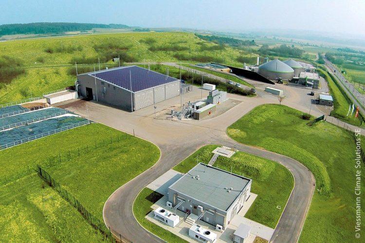 Integration der biologischen Methanisierung am Standort einer Biogasanlage in Allendorf im hessischen Landkreis Waldeck-Frankenberg