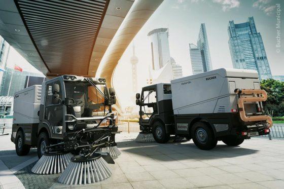Die neuen CityCat-Fahrzeuge V20e und VS20e haben einen Umweltvorteil: Ein einziges Fahrzeug kann jährlich etwa 26 Tonnen CO2-Emissionen einsparen.