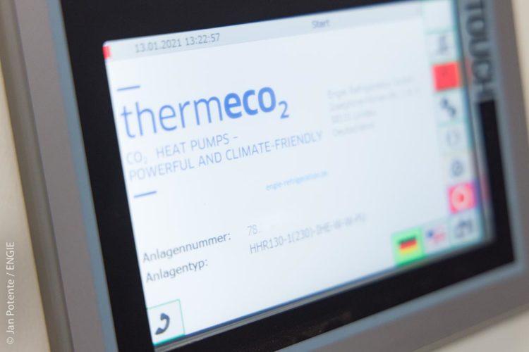 Vorbildliche Nachhaltigkeit: Die ENGIE-Wärmepumpe verwendet das natürliche Kältemittel CO2. Es ist sehr sicher, nicht brennbar und nicht giftig.