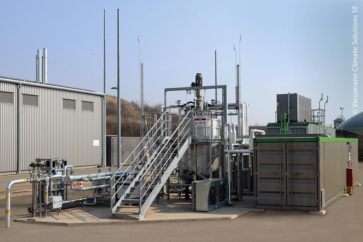 Ging 2015 in Betrieb: die erste biologische Methanisierungsanlage der Viessmann Gruppe.
