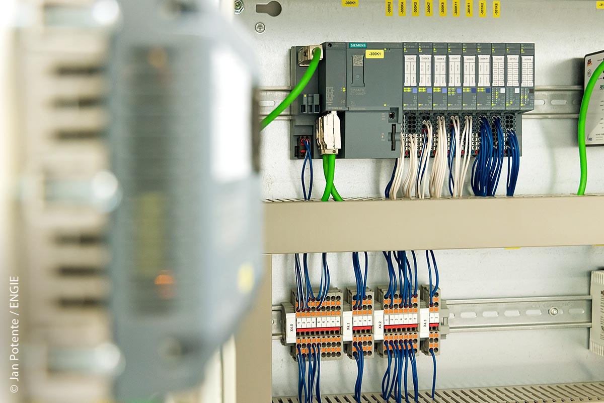 Für kleinere Rechenzentren: In Behörden und Krankenhäusern sorgt die thermeco2 für eine zuverlässige Kälte- und Wärmeversorgung.