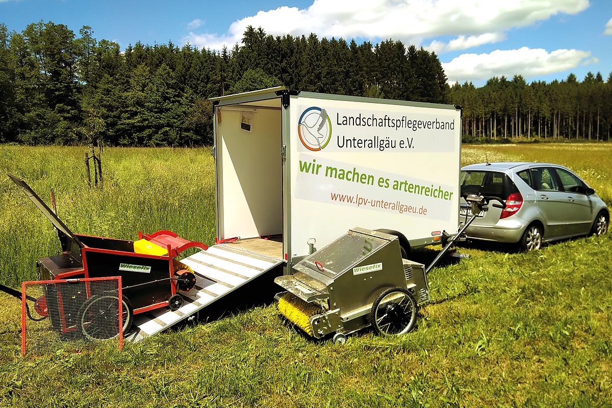 Ein Preisträger 2020 war der Landschaftspflegeverband Unterallgäu e. V.