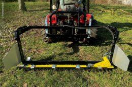 Fehrenbach hat zum Schutz der Insekten ein neues Mähwerk für die Bodenbearbeitung entwickelt, das im Obst- und Weinbau, auf Rasenflächen, Wiesen und Weiden eingesetzt werden kann.