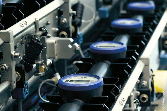 Produktion des Ultraschall-Wasserzählers MULTICAL 21
