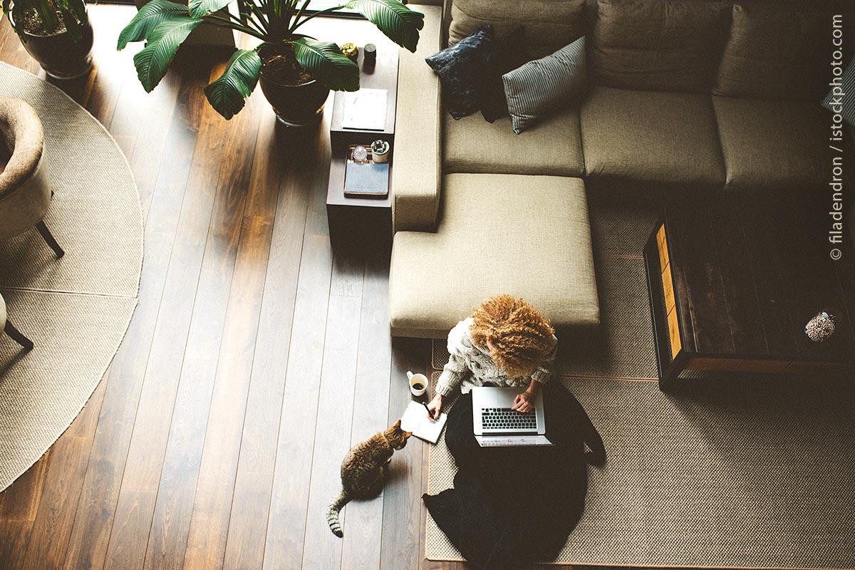 Durch platzsparenden und smarten Workflow ist es leichter möglich, auch von zu Hause aus zu arbeiten.