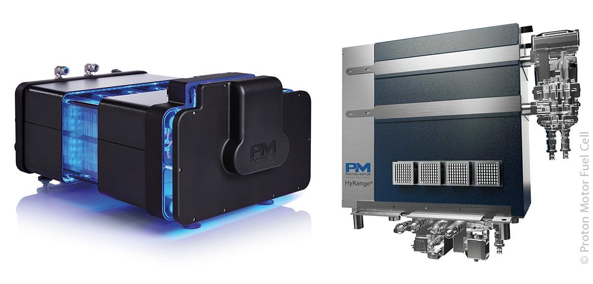Proton Motor Fuel Cell hat sich auf modulare und standardisierte Wasserstoff-Brennstoffzellen spezialisiert.