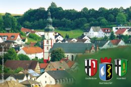 Die osthessischen Gemeinden Bad Salzschlirf (Ort im Hintergrund), Großenlüder und Hosenfeld arbeiten im Verbund zusammen und nutzen derzeit gemeinsam effiziente digitale Prozesse.