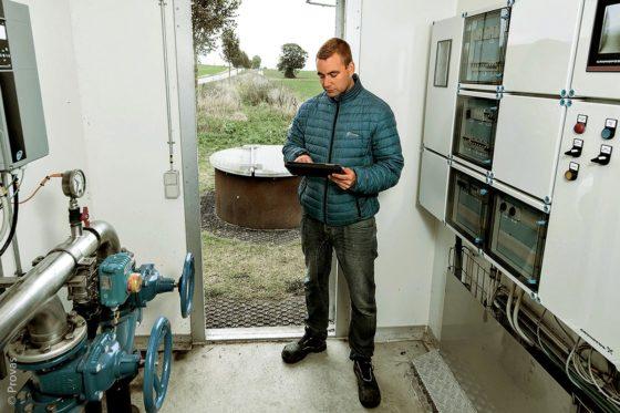 """Das Unternehmen Provas entschied sich dazu, ein Pumpensteuerungssystem von Grundfos zu testen. Die Lösung """"Dedicated Controls"""" half dabei, einen vollständigen Überblick über den Durchflussverlauf zu verschaffen, wodurch eindringendes Fremdwasser lokalisiert und reduziert werden konnte."""