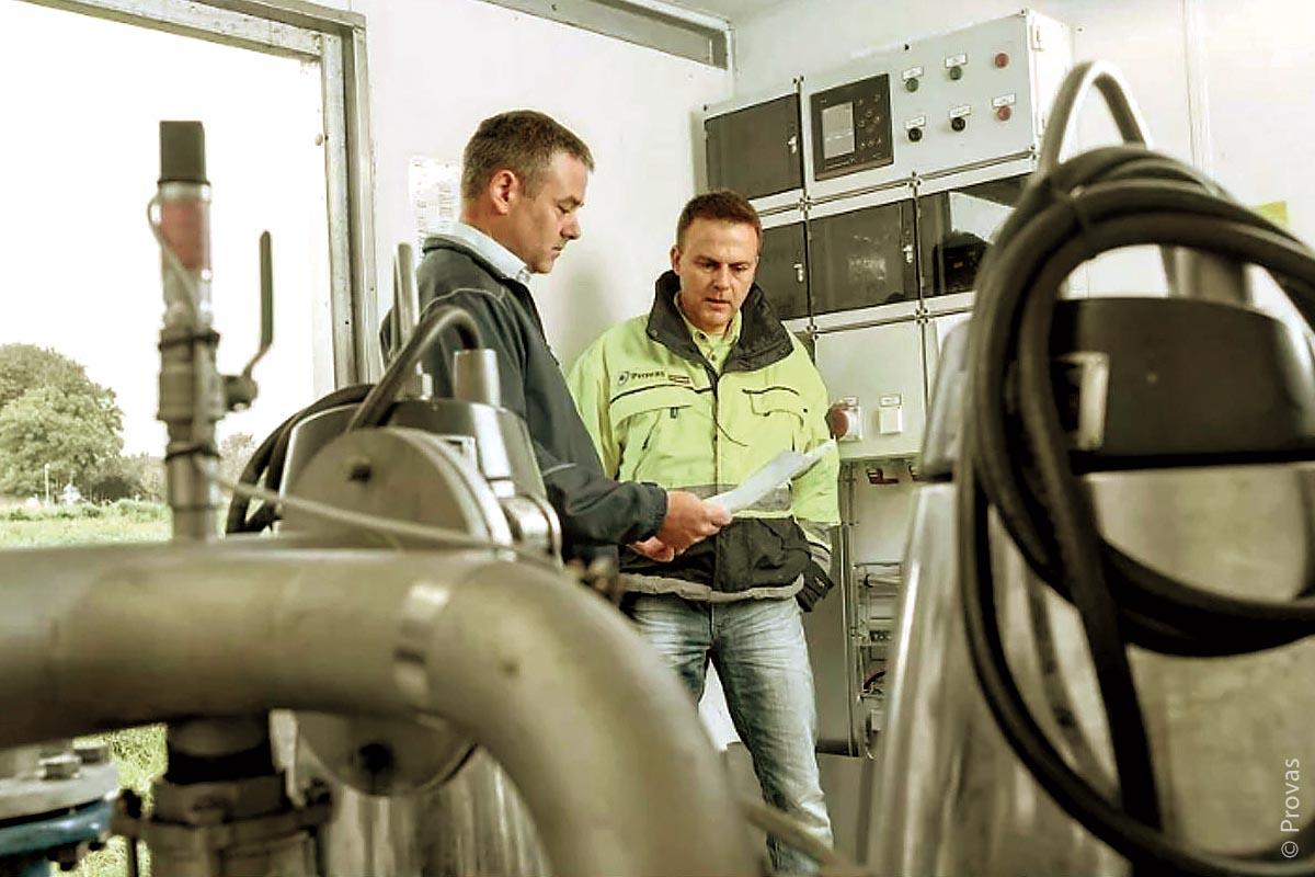 """Die Testphase der Grundfos-Steuerung """"Dedicated Controls"""" lieferte eindeutige Ergebnisse: In jeder dritten Pumpstation konnte der spezifische Stromverbrauch um 36 Prozent gesenkt werden und die Volumenstromabschätzung besaß eine Genauigkeit von fünf Prozent."""