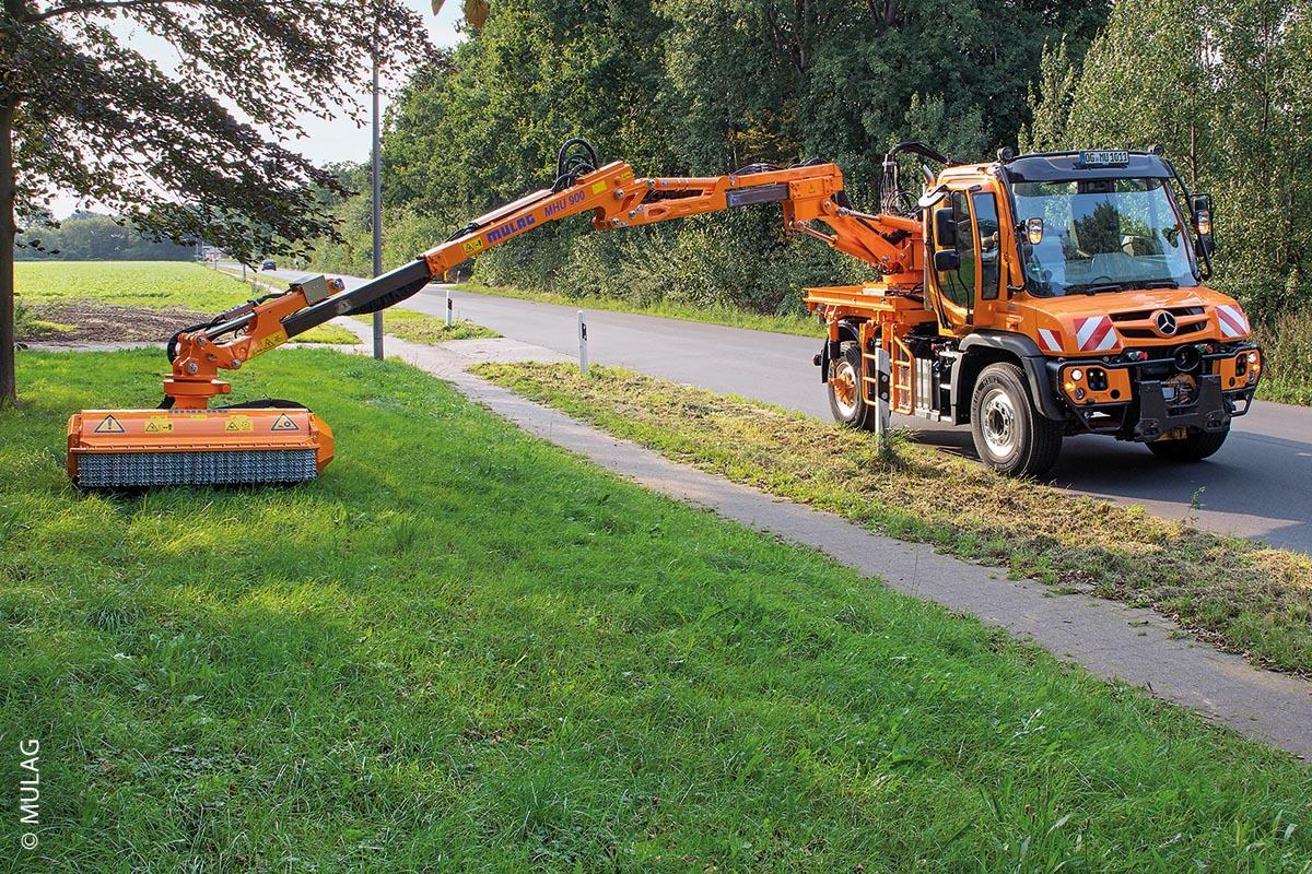 Der MHU 900 besitzt außerdem eine enorme Reichweite von bis zu 9,1 Metern.